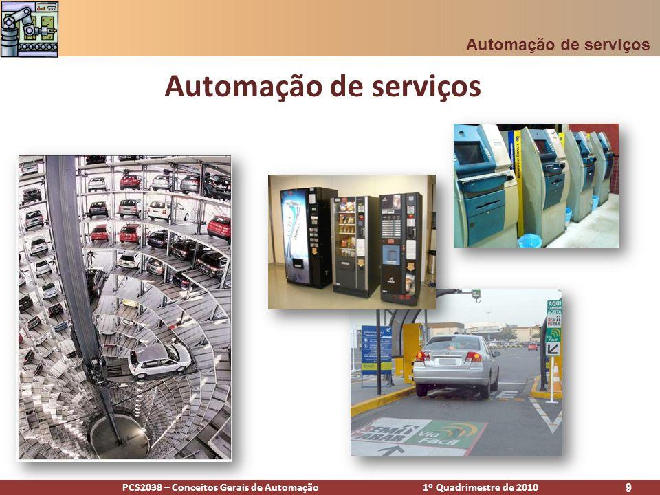 Automação de serviços Automação de serviços [Alencar]